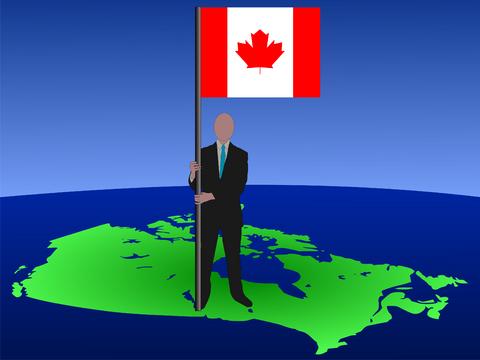 CANADAmanflag