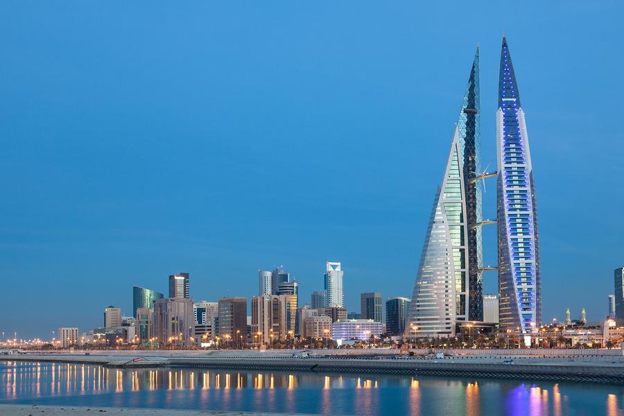 Manama Bahrain Skyline