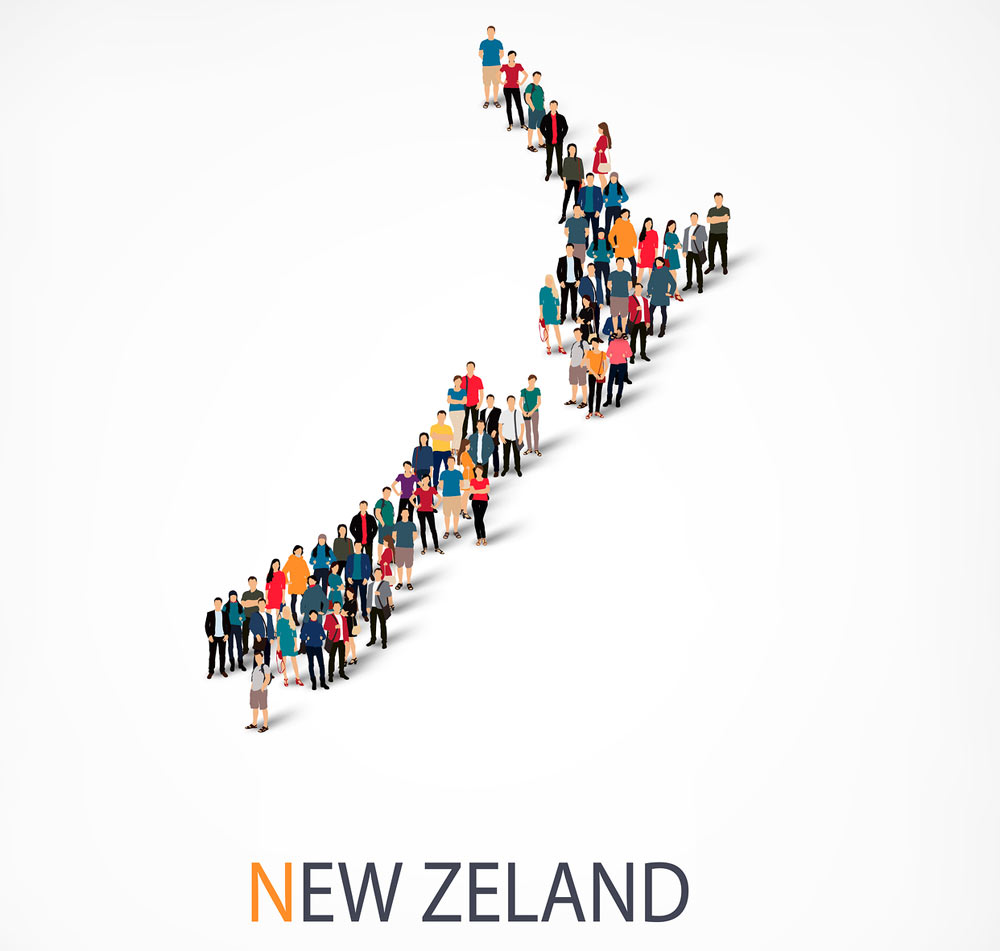 New Zealand's population set to become more broad based