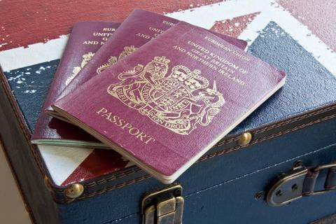 UK expat travel